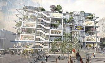 Beispiel für Mischnutzung: Das geplante Hostel von Jo&Joe auf dem Ikea-Markt am Wiener Westbahnhof.
