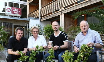 Gastgeber in Ehingen: Familie Miller
