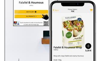 Smart und frisch: So präsentiert sich die neue Automaten-Generation von Foodji