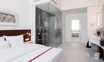 Schlanker Luxus: So definiert sich die Kette Ruby, hier das Hotel Ruby Leni in Düsseldorf