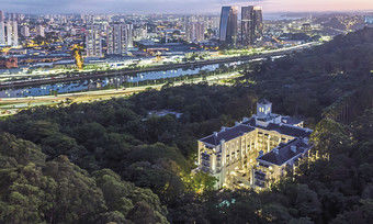 Oase der Ruhe innerhalb der Metropole: Das Hotel Palácio Tangará in São Paulo