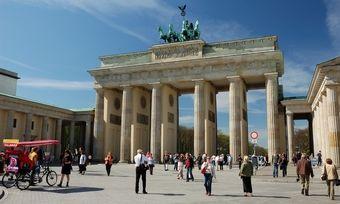 Wahrzeichen der Einheit: Das Brandenburger Tor vereint die beiden einst getrennten Teile Deutschlands