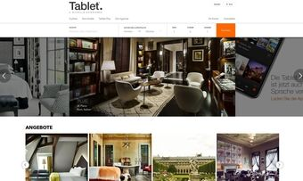 Neue Buchungsplattform mit Potenzial: Hinter Tablethotels.com steht Michelin