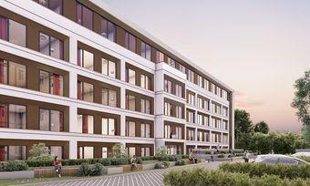 So soll's aussehen: Ein Rendering des geplanten Adagio access Hamburg Mühlendamm
