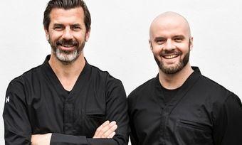 Igniv-Duo: Andreas Caminada (links) und David Hartwig