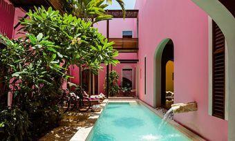 Urlaub in Pink: Das Rosas & Xocolate Boutique Hotel in Mexiko