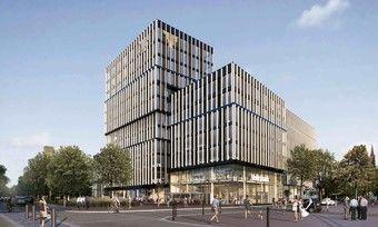 So wird es aussehen: Das Courtyard by Marriott Freiburg