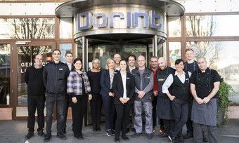 Das Team freut sich auf die Gäste: Die Kollegen im Dorint City-Hotel Salzburg
