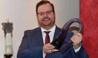 Glücklicher Gewinner: Sommelier Maximilian Wilm