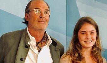 Nachfolge gesichert: Hotelier Alexander Sego mit Tochter Lorenza