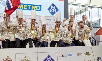 Siegerpose: Norwegen gewann in der Kategorie Nationalmannschaften Gold.