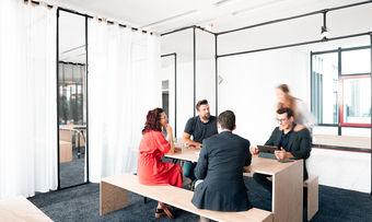 Attraktiv: Coworker können flexibel arbeiten und Services des The Hotel Darmstadt nutzen