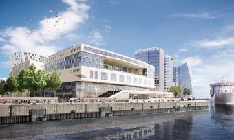 Neues Viertel an der Elbe: Hier entstehen die drei Accor-Hotels und ein Kreuzfahrtterminal