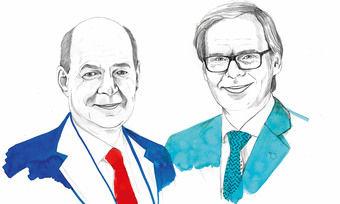 Arbeiten künftig eng zusammen: Thomas Althoff (links) und Frank Marrenbach