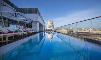 Kempinski Gran Hotel Bristol: Schwimmen mit Blick auf Havanna