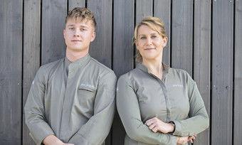 Starkes Team: Souschef Max Krogull und Julia Komp kennen sich bereits von ihrer früheren Station, dem Schloss Loersfeld