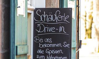 Geschäftsmodelle im Wandel: Im fränkischen Ausflugslokal Alte Weste gibt es jetzt Schäuferle to go