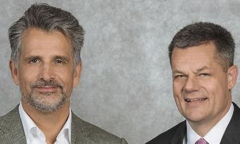 Zufrieden mit der Resonanz: IHA-Vorsitzender Otto Lindner (links) und Hauptgeschäftsführer Markus Luthe