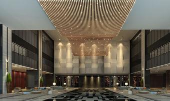 Elegantes Design, viel Platz: Die Lobby im neu eröffneten Maritim Hotel Hefei, China