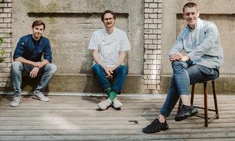 Trio: (von links) Tim Tanneberger, Daniel Achilles und Jonathan Kartenberg