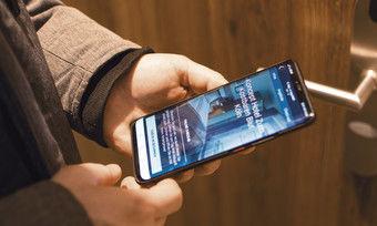 Check-in per App: Im Kölner Koncept Hotel wurde das von Anfang an von den Kunden akzeptiert.