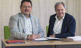 Partner: Walter C. Neumann (links) und Rolf Seelige-Steinhoff