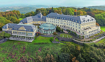 Ort des Geschehens: Der Deutsche Hotelimmobilien-Kongress findet im Steigenberger auf dem Petersberg in Königswinter statt