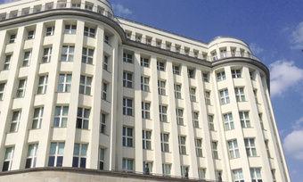 Geschichtsträchtig: Das denkmalgeschützte Gebäude des Soho House war früher Sitz der SED-Zentrale in Berlin