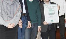 Jacobs-Team: (von links) Irmtraud Krüssel-Middendorf (Finance Director), Christian Papendieck (Marketing Manager), Jörn Horst (Marketing Director), Michael Stangel (General Manager), Raik Willholz (Quality Manager) und Peter Braeß (Sales Director).