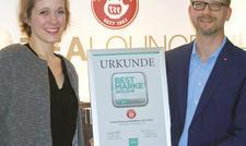 Service-Sieger: Foodservice-Chef Andreas Budach und Produkt-Managerin Nadine Hackstein.
