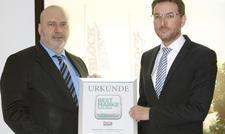 Stolz auf die gute Image-Note: Michael Postinett, Geschäftsführer von Block Menü, und Karl-Heinz Krämer, Vorstand der Block Foods AG.