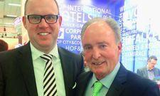 Haben ihr neues Projekt bei der ITB vorgestellt: Michael Kirchner, Inhaber der Kirchner-Gruppe (links), und Hans R. Müller, Top International Hotels