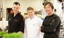 Rekrutieren: (von links) Christian Sturm-Willms, Alexander Stadler und Jörg Stricker