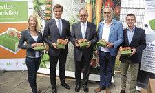 Beste-Reste-Box-Partner: (von links) Stefanie Klühn, Thomas Storck, Christian Schmidt, Christian Rach und Matthias Tritsch.
