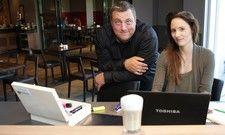 Mehr Leben in der Lobby: Mit dem Coworking-Cafe 101 wollen Direktor Thomas Behrendt (links) und Marketingleiterin Larissa Diefenbacher Gäste und Einheimische vernetzen.