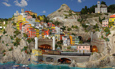 Beliebte Sehenswürdigkeit: Das Hamburger Miniaturwunderland, hier ein Teil des neuen Italien-Bereichs