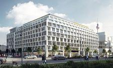 So soll's aussehen: Ein Rendering des künftigen The Student Hotel in Berlin