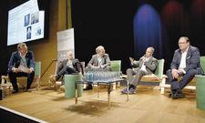 Branchenprofis schildern ihre Erfahrungen: (von links) Christian Buer, Torsten Petersen, Rolf Seelige-Steinhoff, Laurent Picheral und Emile Bootsma.