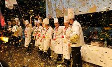 Strahlende Sieger: Die Nationalmannschaft der Köche aus Singapur