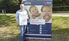 Orientiert sich stark an Kundenwünschen: Hotline-Geschäftsführer Rolf Füßner.
