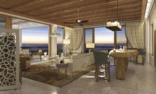 Blick in die Ocean Suite