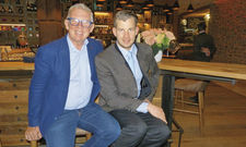 Vater und Sohn ergänzen sich gut: Ernst und Florian Mayer.