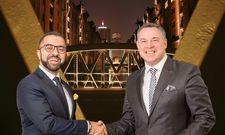 Neue Partnerschaft: Novum-Chef David Etmenan (links) stellt Mario Pick als COO ein