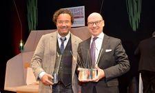 Die Preisträger 2017: Christoph Hoffmann, Hotelier des Jahres (links) und Christian Harisch, Special-Award-Gewinner