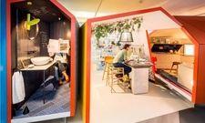 """Gewinner der diesjährigen Sleep Set Competition: Das Hotelzimmer für das Milieu der """"digitalen Avantgarde"""" vom Londoner Designstudio Gensler"""