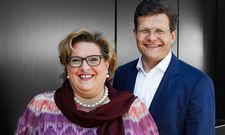 Sind zufrieden: Best Western Hotels Central Europe-Geschäftsführer Marcus Smola und die stellvertretende Geschäftsführerin Carmen Dücker