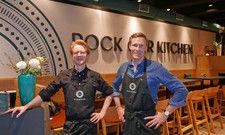 Die Macher: John Ehlerding (links) und Till Witten wollen der Pizza frischen Wind einhauchen