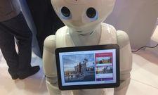 Neuer Reiseberater: Der Roboter Pepper mit Amadeus-Software