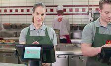 Reif für den Counter? Mit Recruitingvideos will die Burger-Kette Jim Block neue Mitarbeiter gewinnen.