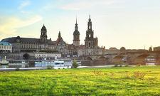 Elbflorenz: Wegen Pegida hat Dresden immer noch mit Rückgängen aus dem Inland zu kämpfen.